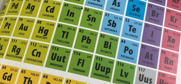 Science Fridays 2018-2019: Periodic Table